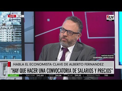 las-definiciones-del-economista-clave-de-alberto-fernndez-dlar-cepo-acuerdo-de-precios-y-salarios-retenciones-fmi-y-deuda-2019-07-17